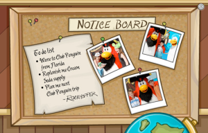Rockhopper's To Do List
